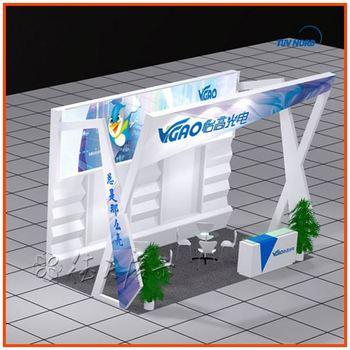 Portable Trade Show Booth Design Ideas From Shanghai China