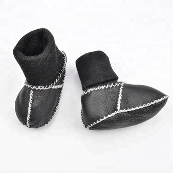 de59bc6e5 100% merino sheepskin soft sole toddler bootie girl boy baby boots infant  shoes