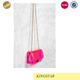 Pink Jelly Pvc Crossbody Shoulder Bag