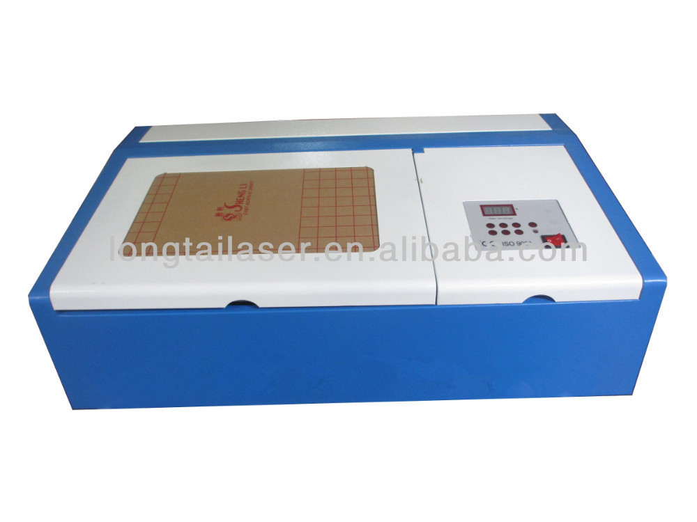 3020 Clamp Rubber Stamp Laser Engraving Machine