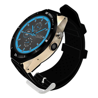 High Quality Waterproof IP68 SIM Card Slot 3G WIFI GPS Men Smart Watch With CE-RoHS