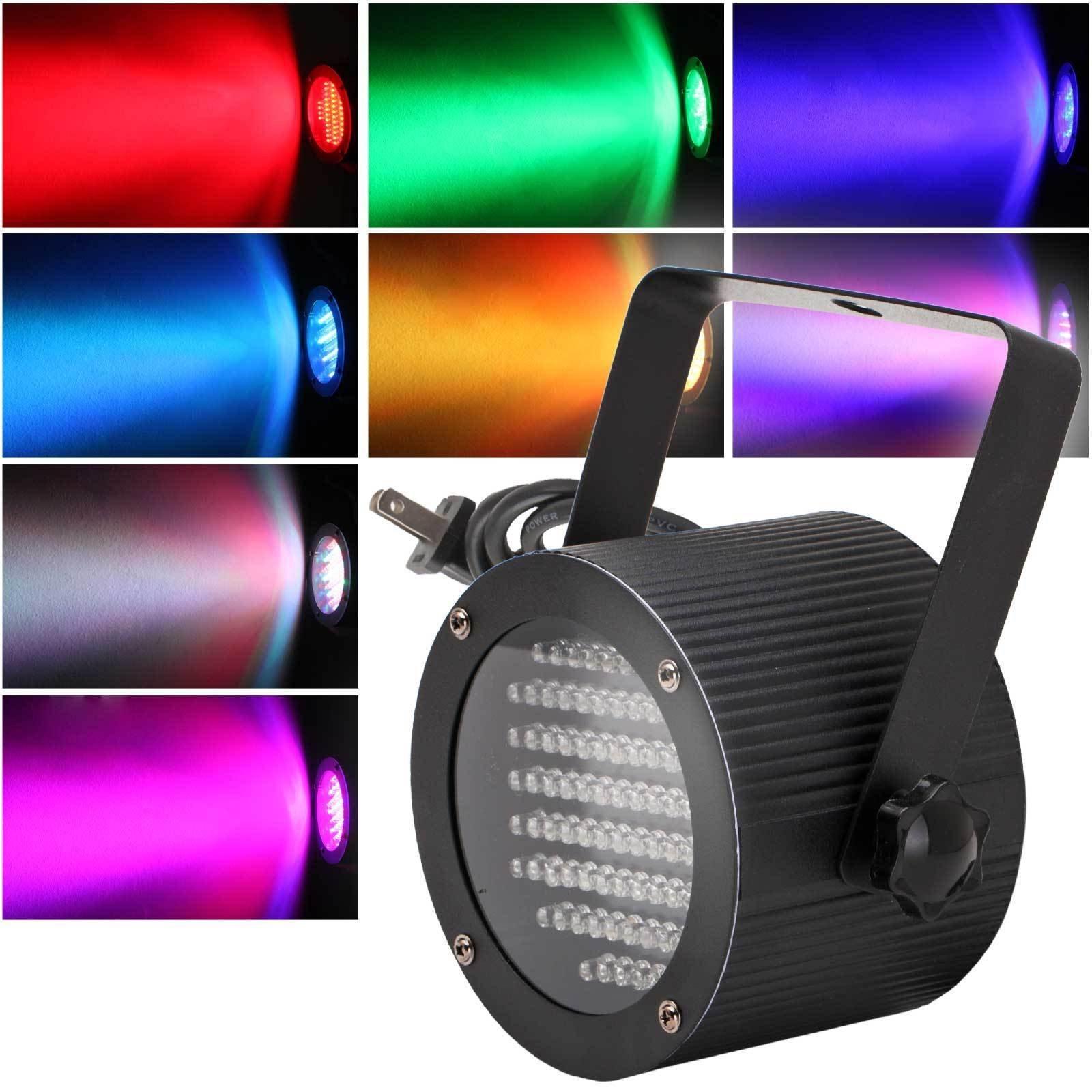 ALED LIGHT® Dmx512 86 Leds Par Stage Light Laser Lighting Rgb For Dj Disco Theater Ballroom Ktv Night Clubs Party Strobe Light Effects