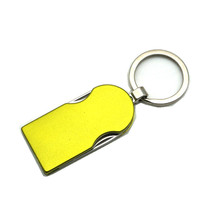 High quality folding pocket knife keychain
