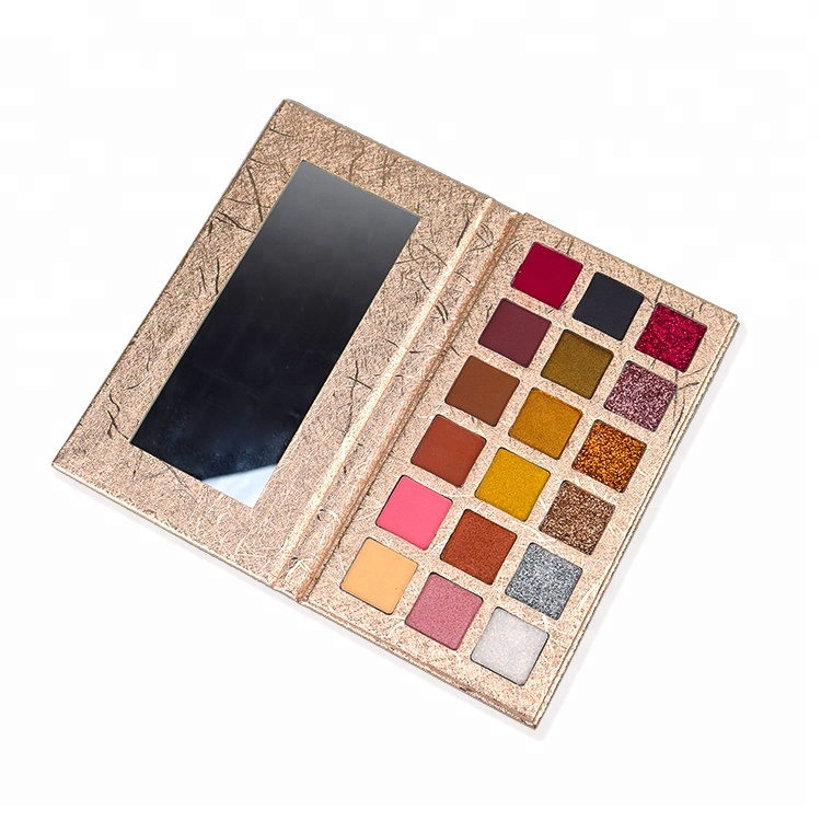 Groothandel private label 18 color eyeshadow palette
