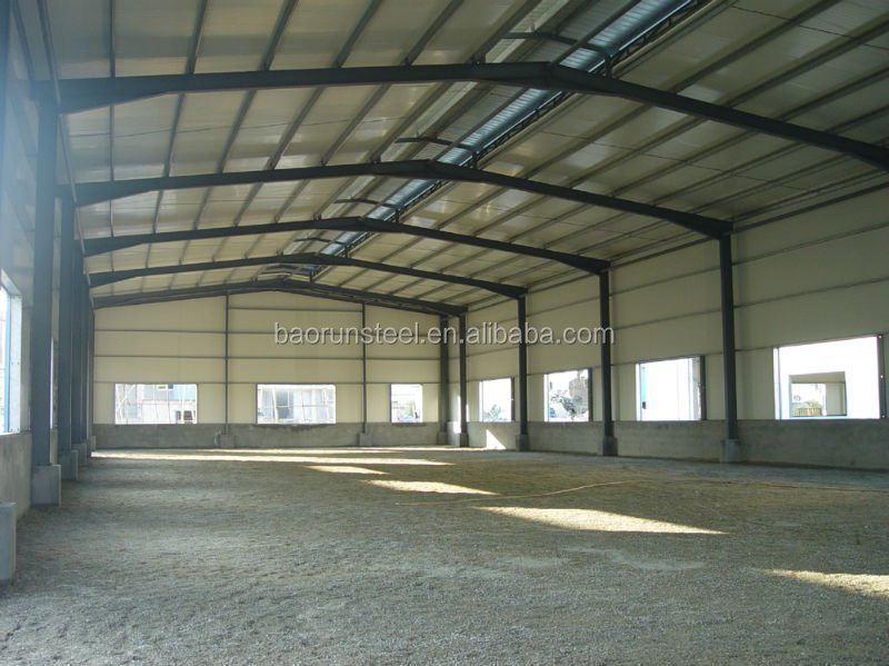 Qingdao Baorun Prefabricated steel structure building best steel building for warehouse