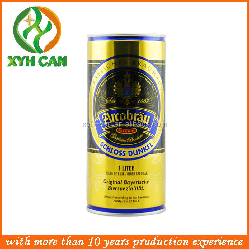 1000 Ml Beer Tin Sign Can /aluminum Beer Tin Can /jerry Can