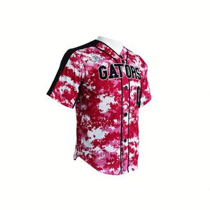 Cheap Sublimation Team Baseball Uniforms Design Fashion Infant Custom Sublimated Baseball Jersey