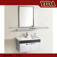 hanging ceramic basin modern stainless steel bathroom vanitys