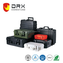 Ningbo everest EPC016 military plastic waterproof crushproof shockproof carrying flight case with foam