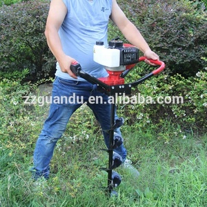 Factory price earth drilling machine / hand operated mini earth auger / hand digging machine