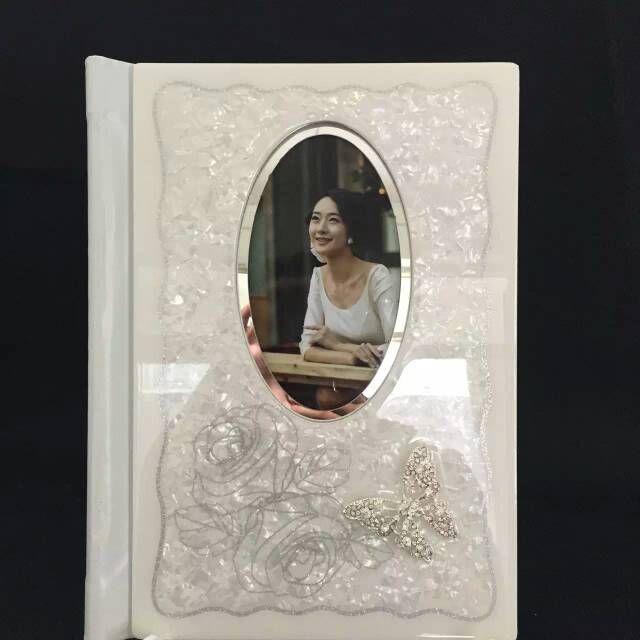 China Manufacturer Crystal Wedding Photo Album Cover Design And Case