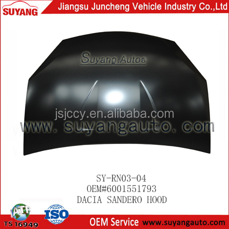 Auto Bonnet Body Parts/kits For Dacia Sandero Factory 6001551793 ...