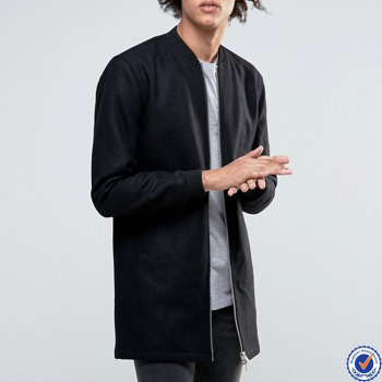 7d88740f0 custom men black quilted longline bomber jacket, View black quilted bomber  jacket , HL Product Details from Dongguan City Hui Lin Apparel Co., Ltd. on  ...