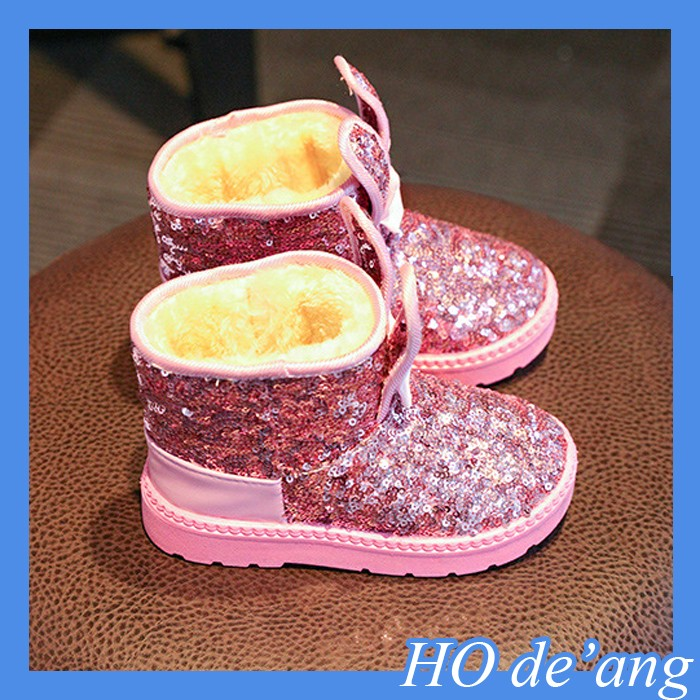 new fashion kids warm winter mermaid snow <strong>boots</strong> children winter <strong>boots</strong>