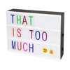 DC5V USB Wire DIY Free Combination LED Letters Lamp Cinematic LED ABS Plastic Light Box Spell Your Own Message