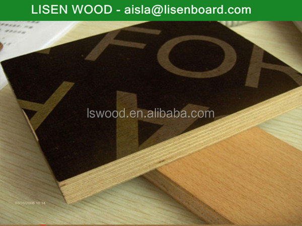 Pp Faced Plywood ~ Wbp glue pp plastic film faced plywood for construction