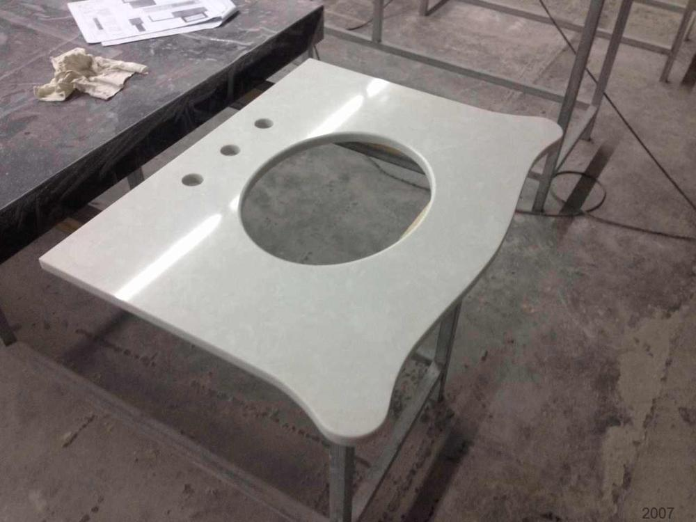 China hot sell engineered stone quartz slab table top