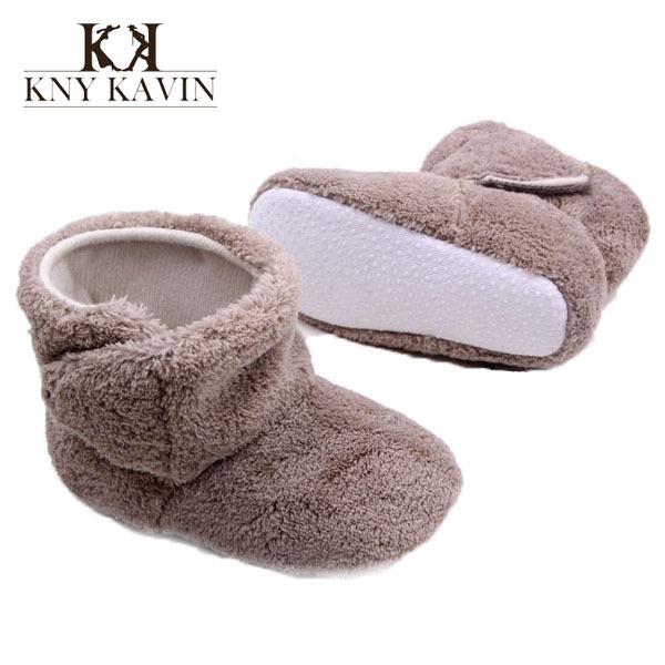 Hazane Crib Shoes Infant Girl Winter Warm Shoes Sneaker Cotton Girl Boy Cute Waterproof Booties Unisex