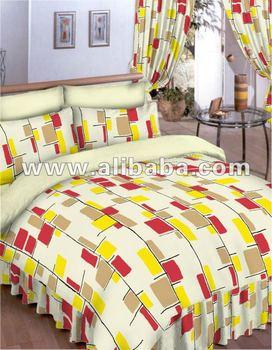 100 Cotton Bedsheet Set Bedsheet Set Flat Sheet Fitted Sheet Bed