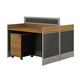 Hign end low price office cubicle workstation tables