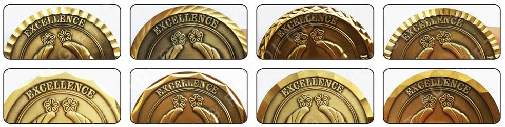 O projeto original do metal stamping decorativos comemorativa bitcoin moeda de ouro