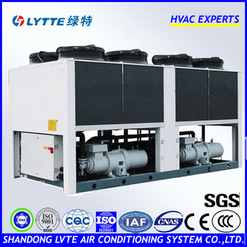 LTLF Series Chiller 80-1000KW Air Cooled Water Chiller (Chiller with Screw Compressor) for Air Conditioning Central Cooling