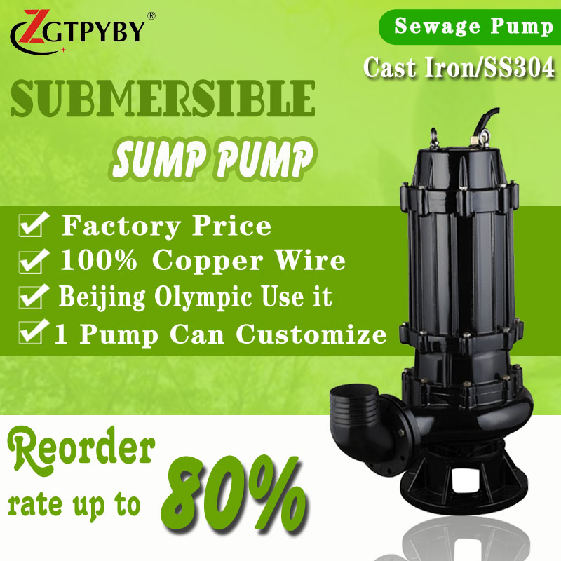single phase 110V effluent pumps water pump bathroom waste water pump with manufacturer price