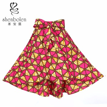 african new fashion skirts Custom Printed Skirts for ladies