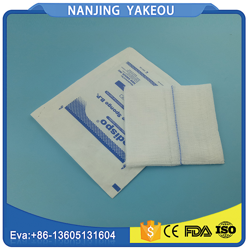 wound dressing sterile medical gauze swab folding