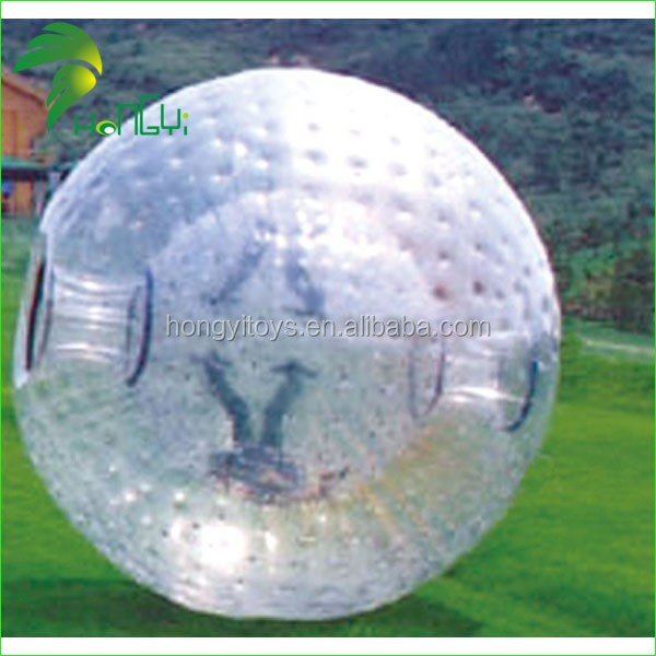 Hot Sale Inflatable Adult Zorb Ball / Factory Price Body Bubble Bumper Human Ball