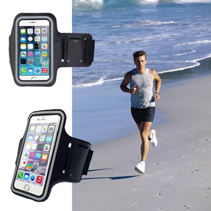 1X красочные открытый спорт водонепроницаемый повязку ремешок телефон сумка спорт обложка чехол для HTC Gratia ария свобода A6380 G9 A6366