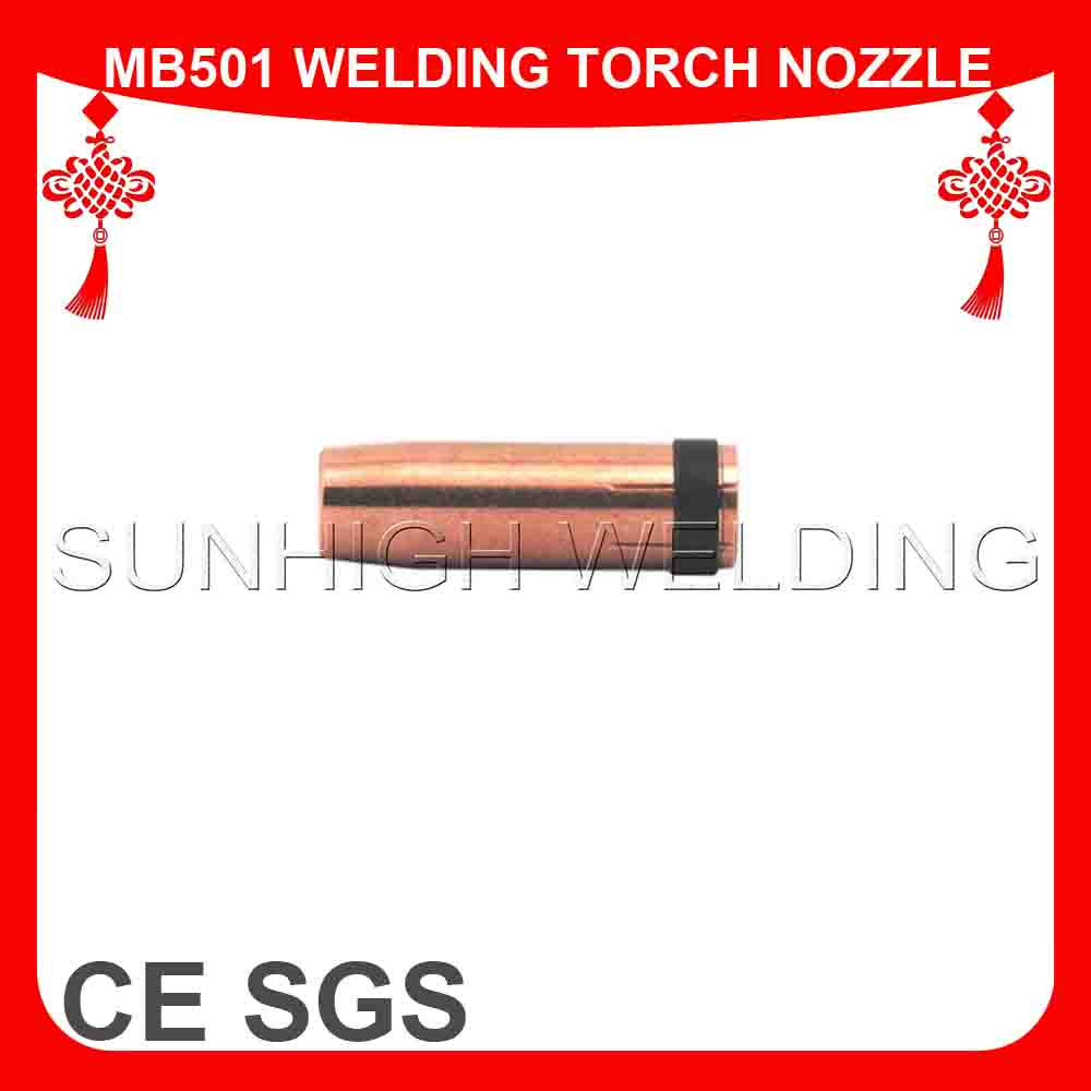 Binzel Welding Torch MB 501D Gas Nozzle Mig Welding Spare Parts
