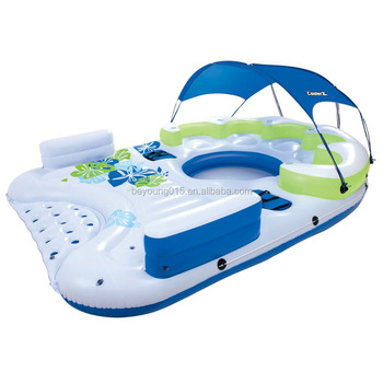 2016 Canopy Island Type Giant Inflatable 7 Person Pool