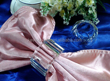 hot sale Crystal Napkin Ring for tables