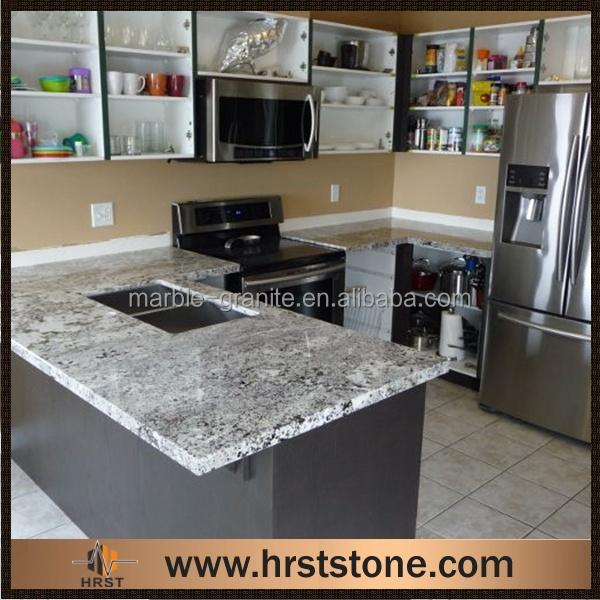 Charming African Rainbow Granite Kitchen Countertops