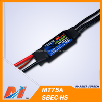 Maytech RC Helicopter ESC 75A Brushless Electric Speed Controller for Remote Control FPV Jet Plane