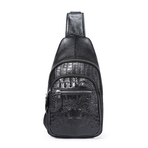 9102eee73d40 Leather Chest Bag