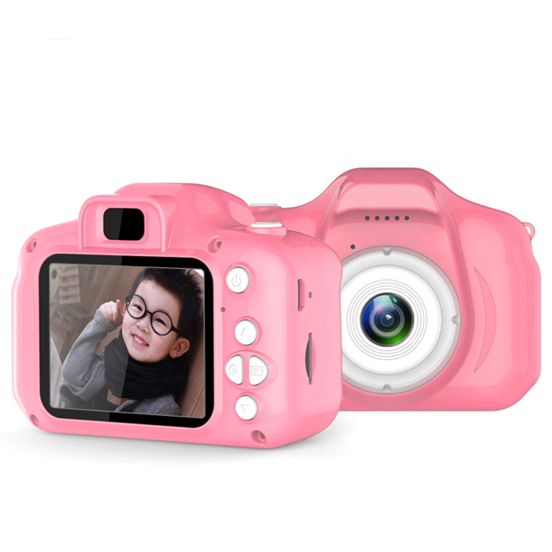 HongHong Kids Camera Digital SLR Sports Dual Lens Shockproof Mini Child Cameras Gifts for Girls Boys Toys Outdoor Play Camouflage