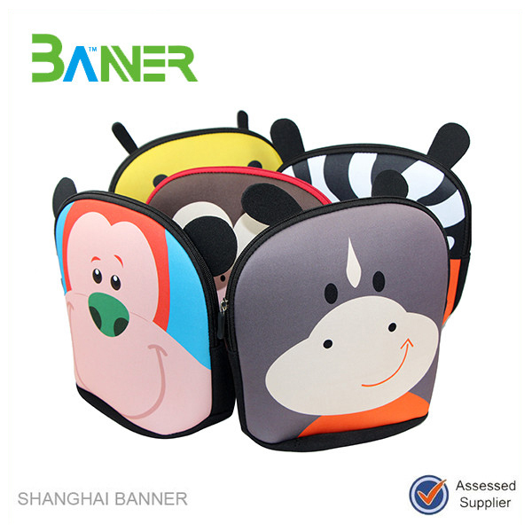 Promotionnel en néoprène coloré Sac à Lunch Enfant avec sangle