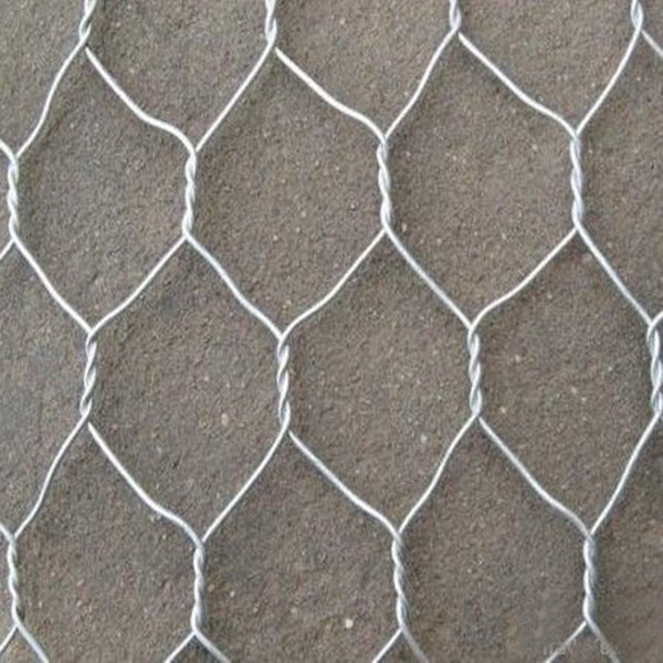 Factory Galvanized Hexagonal Woven Wire Mesh Double Twist Gabion Box PVC Coated Stone Mesh