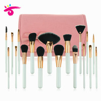 Pink Brushed Makeup Brush Unique Cosmetic tool Kit for Powder Foundation Cream Eyeshadow