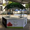 Outdoor advertising event hexagon heavy duty canvas tent
