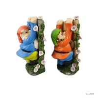 Resin Custom Wholesale Garden Climbing Gnomes