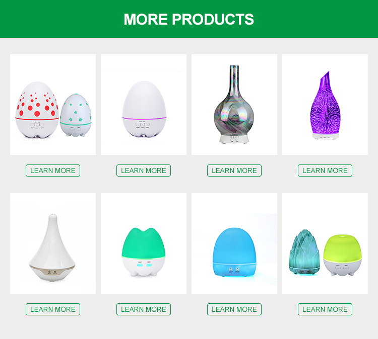 400ml ultrasonic aromatherapy diffuser for home office air humidifier branch smart intelligent Q06