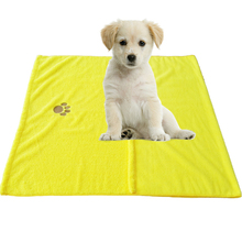 dog pet microfiber towel / beautiful bath towel with cheap price