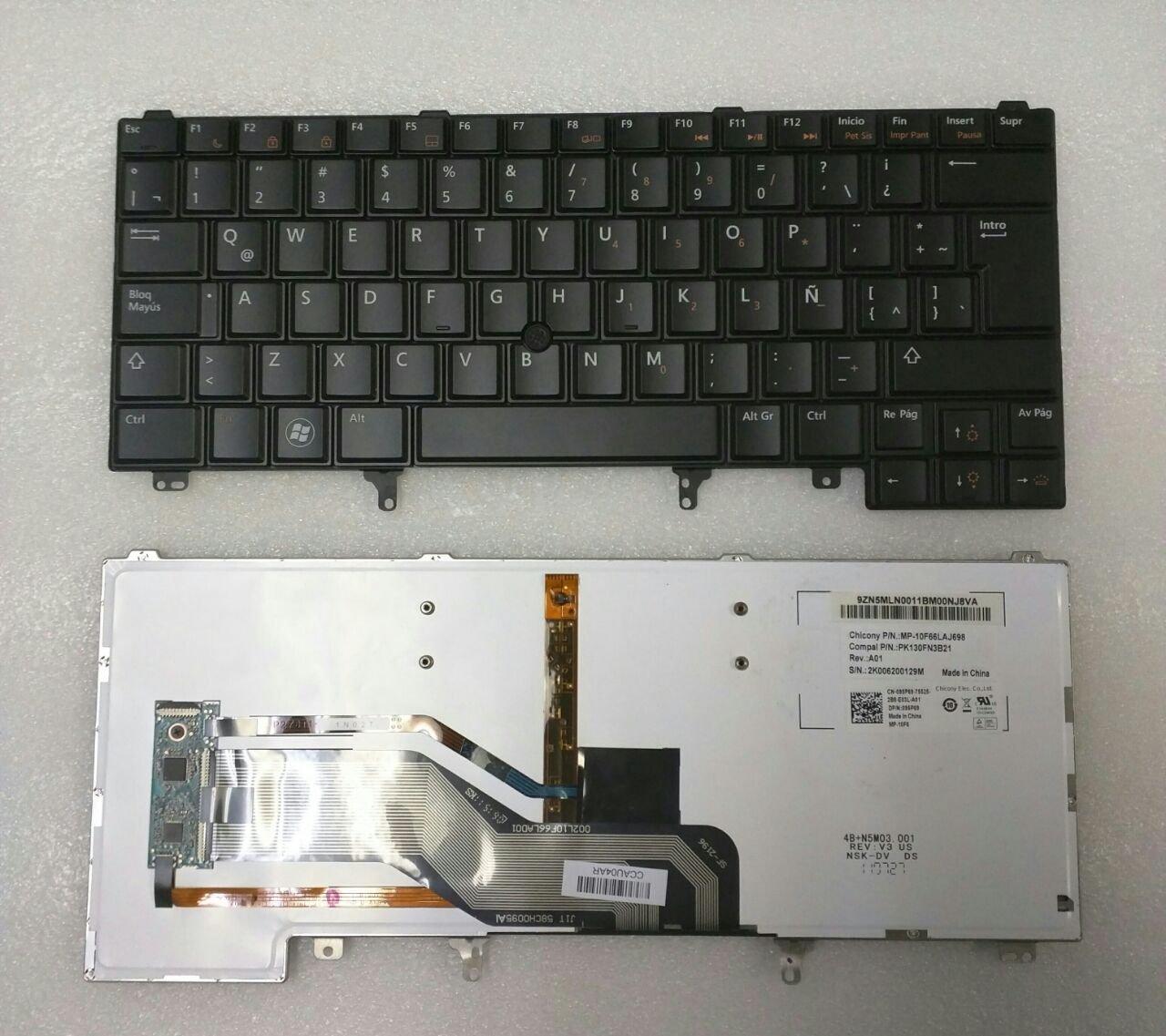 Keyboard for Dell Latitude E5420 E5430 E6220 E6230 E6320 E6330 E6420 E6430 E6440