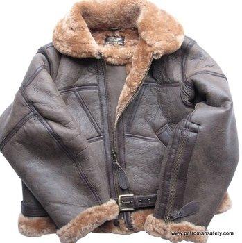 Pilot Leather Sheepskin Jacket