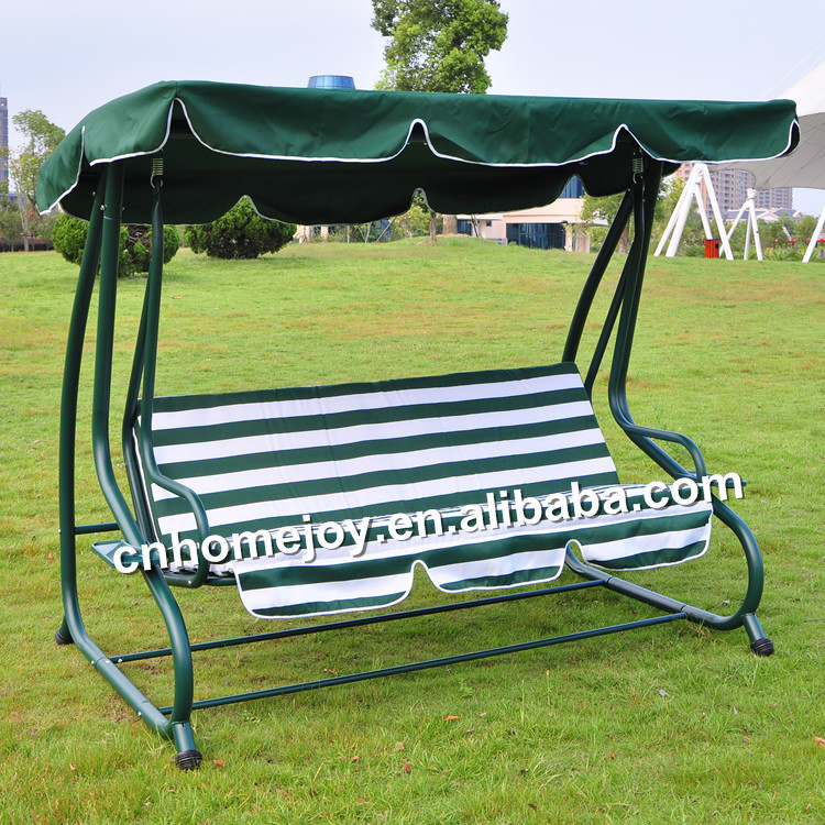 Luxury Outdoor Patio Sofa Bed Swing With Canopy