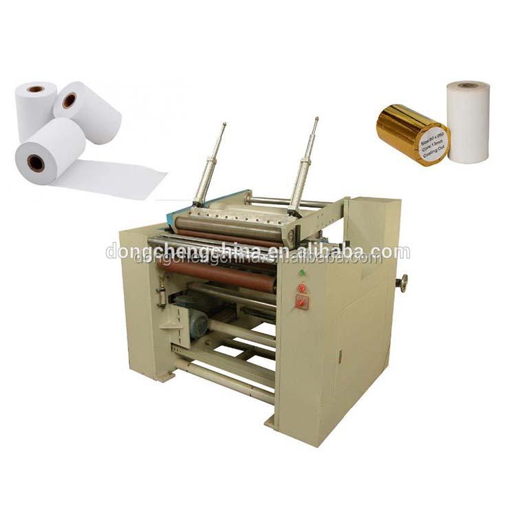 Slitting And Rewinding Machine,Fax Paper Or Heat Sensitive Paper Or Cash  Register Paper Slitter Rewinder - Buy Slitter Rewinder,Paper Slitting