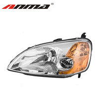 Head light assy head lamp assy 33151-S5P-A01 for Honda